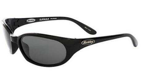 Berkley Polarized Sunglasses Eufala Gloss Blk/Smoke Model: BSEUFAGBS-H