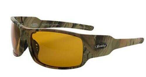 Berkley Polarized Sunglasses Norfolk Matte Camo/Amber Model: BSNORFMCA-H