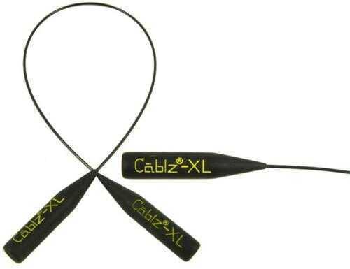 Cablz Sunglass Retainer 14In Black W/Xl End Model: CBLZXLB14
