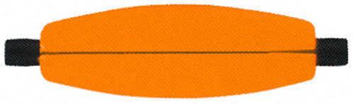 Comal Floats Foam Slotted Cigar Float 2 1/2in Orange 100 per bag C250SO