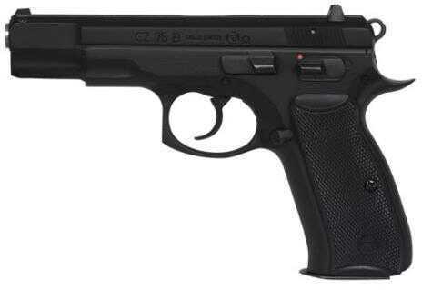 "CZ 75 B OmeGauge 9mm Luger 4.6"" Barrel 16 Round Black Semi Automatic Pistol 91135"