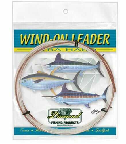 Momoi / Hi-Liner Line Diamond Xtra Hard Wind On Lead Clear White 25ft 100lb Fishing Line 6-95699-90061-0