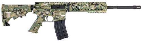 "Diamondback Firearms Semi Automatic Rifle 223 Remington /5.56 Nato 4 Rail 16"" 4140 Chrome Moly Free Floating Barrel No Sights Digital Green Camo A2 Flash Hider A3 Flat Top DB15DCG"