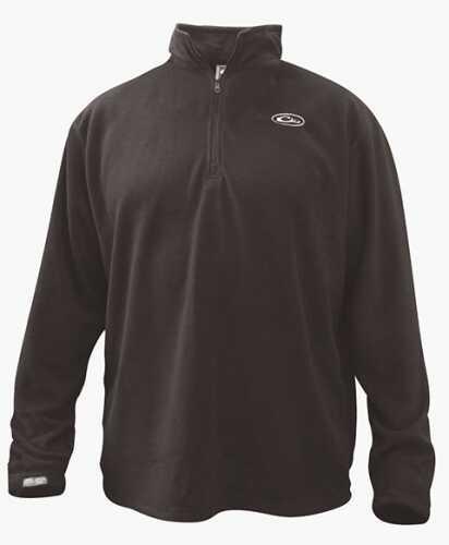 Drake Waterfowl Drake Camp Fleece Pullover Black Large