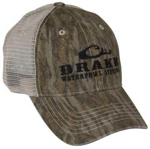 Drake Waterfowl Drake Mesh Back Cap - Logo Blades Camo DW167BLA