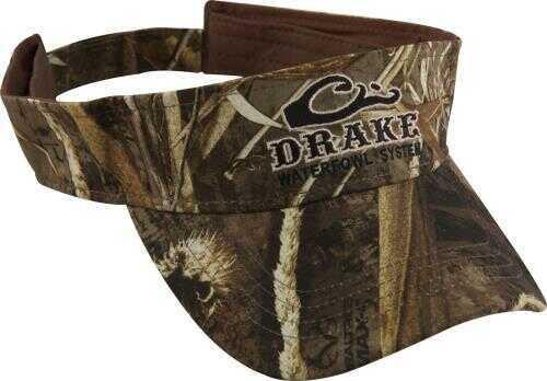 Drake Waterfowl Drake Visor - Logo Max-5 Camo Model: DW168MX5