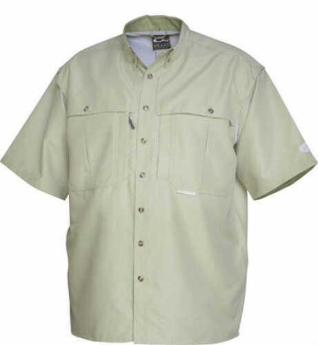 Drake Waterfowl Drake Casual Vented Wingshooter's Shirt Sea Green Short Sleeve Small Md#: DW260SEAS