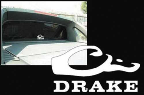 Drake Waterfowl Drake Window Decals White DW80220-WHT
