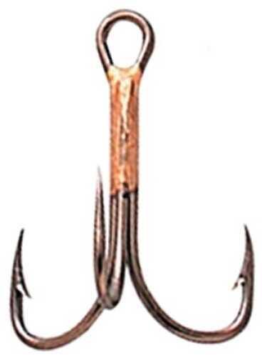 Eagle Claw Fishing Tackle Eagle Claw Hook Bronze Treble 10/ctn 374A-6