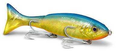 Egret Holo-Flash Kick A Mullet 5in Foil Gold Blue Back Flash E-KA-M5-F18