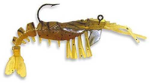 Egret Vudu Shrimp 4In 2Pk Rootbeer EVS40-07