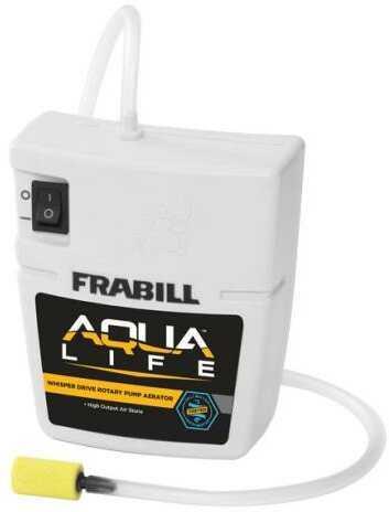 Frabill Inc Frabill Aqua Life Quiet Aerato Runs On 2 D Batteries 10 Gal Model: 14331