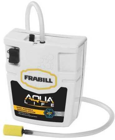 Frabill Inc Frabill Aqua Life Whisper Aera Runs On 2D Batteries 15 Gal Model: 14341