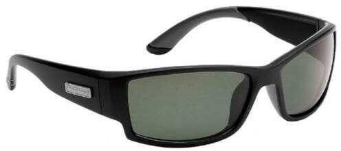Flying Fisherman Razor Matte Black Frame Smoke Lens Sunglasses