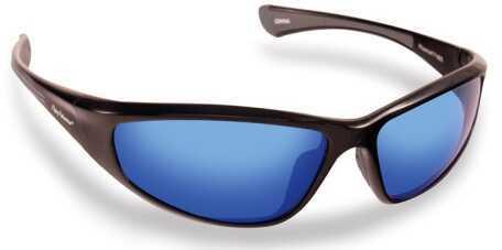 Flying Fisherman Sunglasses Polaroid-Phoenix Black Smoke/Blue 7718BS