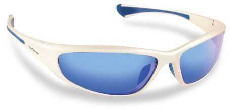 Flying Fisherman Sunglasses Polaroid-Phoenix Silv Smoke/Blue 7718SS