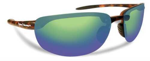 Flying Fisherman Sunglasses Polaroid-Cameroon Tort Amb/Green 7727TA