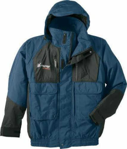 Frogg Toggs Toadz Jacket Blue/Black Sz: Medium Md#: NT6201-122M