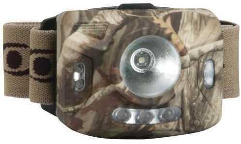 Walker's Game Ear / GSM Outdoors Gsm Cyclops Headlamp Ranger Xp Camo Strap 4-stage