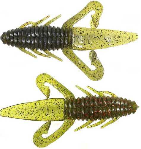 Gene Larew Biffle Bug 4 1/4in 8 per bag Sooner Run TBB255-8