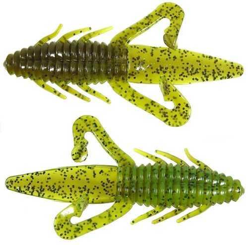 Gene Larew Biffle Bug 4 1/4in 8 per bag Green Pump/Ch TBB8831-8