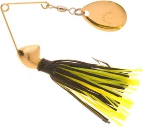 Yakima / Hildebrandt Hildebrandt Spin Dandy 1/8oz Gold Head/Chartreuse & Black 0DANG-CHBL