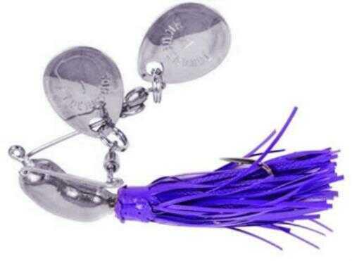 Yakima / Hildebrandt Nugget 1/4 Ounce Purple Skirt With Nickel Blade Md: 102N-PUR