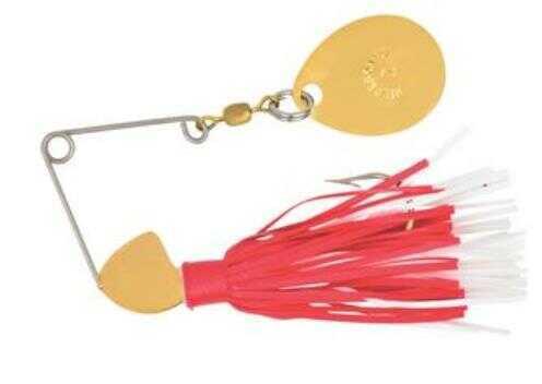 Yakima / Hildebrandt Hildebrandt Spin Dandy 1/6 Ounce Gold Head/Red & White Md: 2DANG-RW
