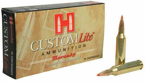Hornady Custom Lite Ammunition 243 Win 87Gr SST Lite 20 Per Box