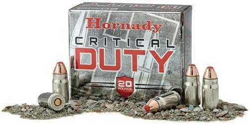 Hornady Critical Duty Ammunition 357 Sig 135Gr Flexlock 20 Box