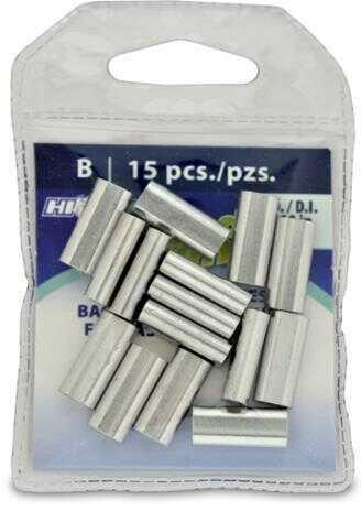 AFW / Hi-Seas Grand Slam Aluminum Sleeves 2.8mm 500 LB Mono, 15-Pack Md: GSB-15