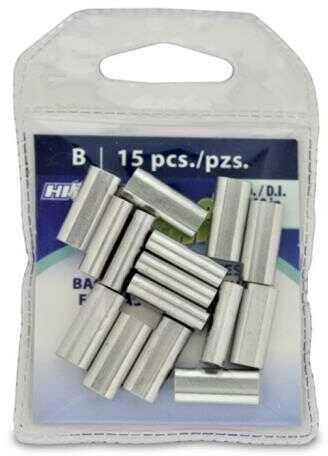 AFW / Hi-Seas Grand Slam Aluminum Sleeves 2.3mm 400 LB Mono, 15-Pack Md: GSC-15