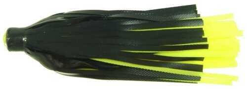 Yakima / Hildebrandt Vinyl Skirts 3in 2pk Black/Chartreuse PS-BC