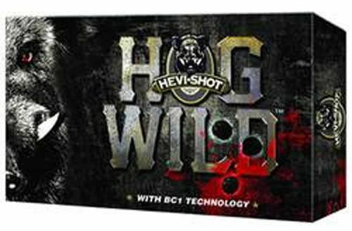 Hevi-Shot Buckshot Hog Wild 12Ga Ammo 3-Ball 3.5In 5/Bx 20Bx/Cs