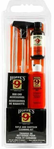 Hoppes Cleaning Kit Universal Rifle/Shot (Clam Pk) Model: UOB