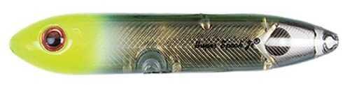 Pradco Lures Heddon Super Spook Jr 3 1/2in 1/2oz Black/Chart Gold X923624