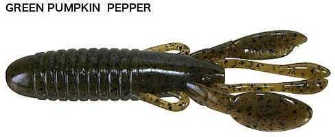 Shimano Jackall Cover Craw 3in 8pk Green Pump Pepper JCOVCRA3-GPP