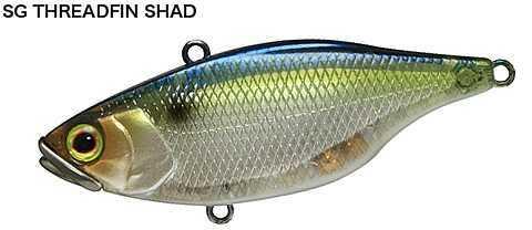 Shimano Jackall TN/60 Lipless Crankbait 2 5/16in 7/16oz Sg Threadfin S JTN60-SGTH