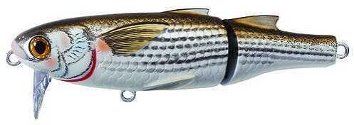LIVETARGET Lures / Koppers Fishing and Tackle Corp Koppers Fishing Usa Koppers Mullet Wakebait 4 1/2in Natural/Matte MWK115T901