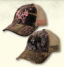 Longleaf Camo Longleaf Mesh Skull Logo Cap Pink Md#: 092PK