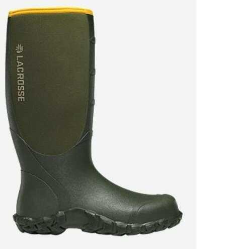 Lacrosse Alpha Lite Boots Green 16in 5mm Neoprene Size 07 Model: 200062-07