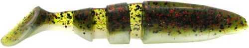 Lake Fork Tackle Lake Fork Boot Tail Magic Shad 3 1/2in 6pk Watermelon Red Pea 2015-708