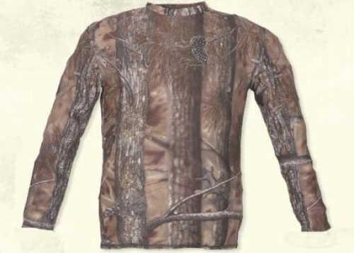 Longleaf Camo Longleaf Drywear T-Shirt At-Brown Camo L/S 261ATBS