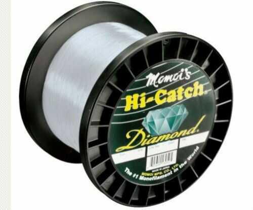 Momoi / Hi-Liner Line Momoi Hi Catch Mono 2lb Spool Clear White 1500yds 80lb Fishing Line 6-95699-00802-6