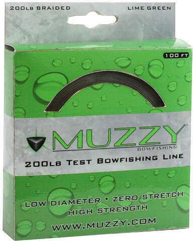Muzzy Archery Muzzy 200# Bowfishing Line, 100 Feet Md: 1078