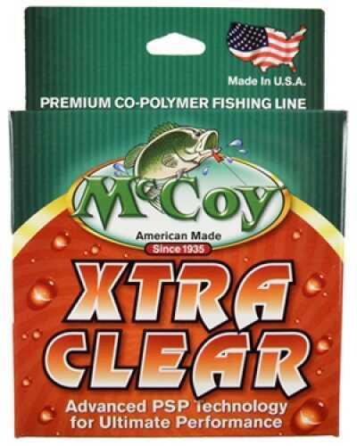 Mccoy Fishing Mccoy Xtra Clear Line Xtra Clr Co-Polymer 250yd 8lb Fishing Line 21008