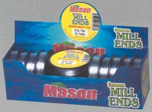 Mason Tackle Mason Mill End Line 45yd 8# 13/bx Fishing Line ME8