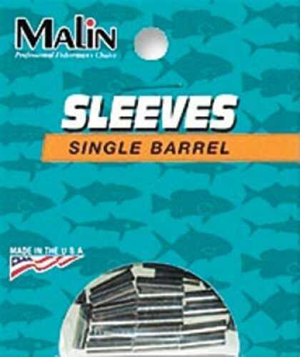Malin Wire & Cable Malin Single Barrel Sleeves Nickel 50pk .071 40-60lb MS5N-50