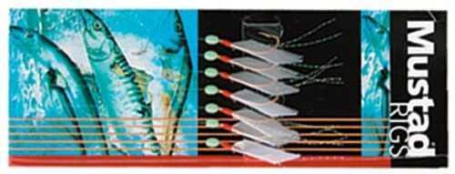 Mustad Hooks Mustad Piscator Bait Rig #4 5 Hook 10pks/ctn SPR5G4