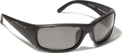 Native Eyewear Native Polarized Eyewear Bomber Asphalt/Gray